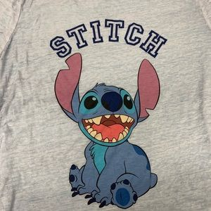 Disney Stitch Light Blue Sheer sz XL